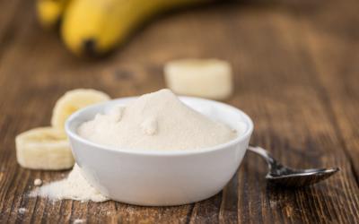 Como usar banana em pó